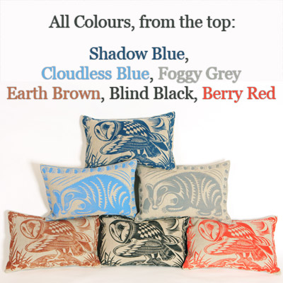 The Peaceable Kingdom Cushions - All Colours